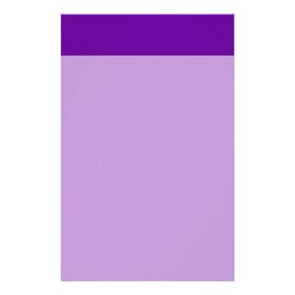 660099 Purple Customized Stationery