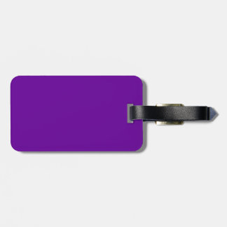 660099 Purple Tag For Luggage