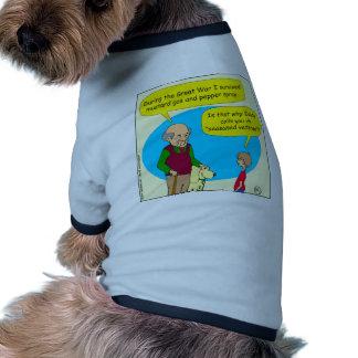 660 seasoned veteran cartoon dog clothing
