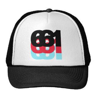 661 Area Code Trucker Hat