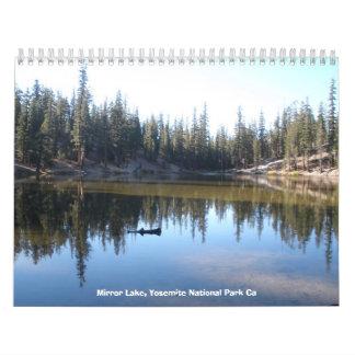 661, Mirror Lake, Yosemite National Park Ca Calendar
