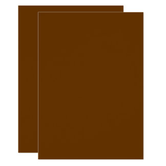#663300  Hex Code Web Color Brown Card