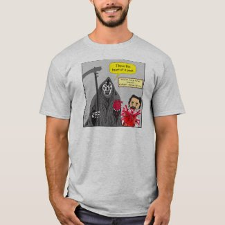 665 heart of a poet cartoon T-Shirt