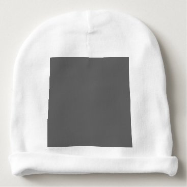 Professional Business #666666 Hex Code Web Color Dark Grey Gray Baby Beanie
