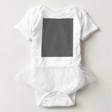 Professional Business #666666 Hex Code Web Color Dark Grey Gray Baby Bodysuit