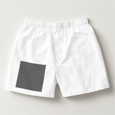Professional Business #666666 Hex Code Web Color Dark Grey Gray Boxers