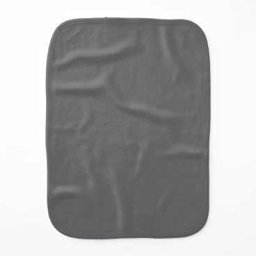 Professional Business #666666 Hex Code Web Color Dark Grey Gray Burp Cloth