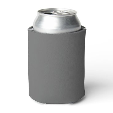 Professional Business #666666 Hex Code Web Color Dark Grey Gray Can Cooler