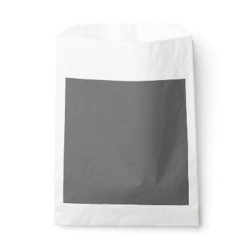 Professional Business #666666 Hex Code Web Color Dark Grey Gray Favor Bag