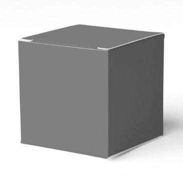 Professional Business #666666 Hex Code Web Color Dark Grey Gray Favor Box