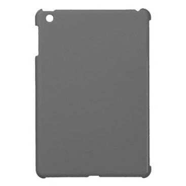 Professional Business #666666 Hex Code Web Color Dark Grey Gray iPad Mini Case