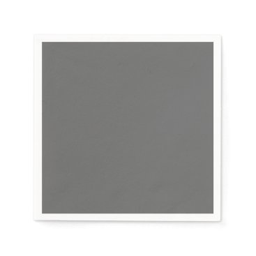 Professional Business #666666 Hex Code Web Color Dark Grey Gray Napkin