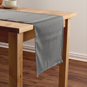 Professional Business #666666 Hex Code Web Color Dark Grey Gray Short Table Runner