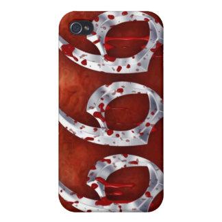 666 a iPhone 4/4S funda