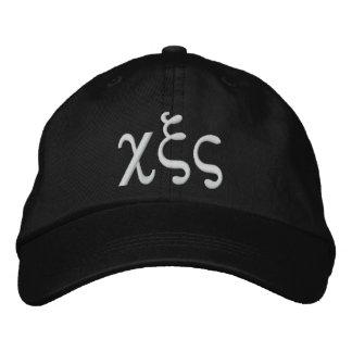 666 Greek Embroidered Baseball Hat