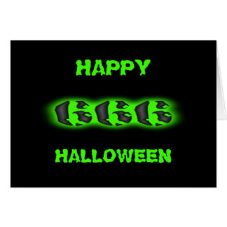 666 Halloween Stationery Note Card