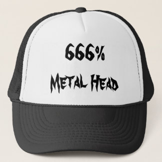 666%Metal Head Trucker Hat