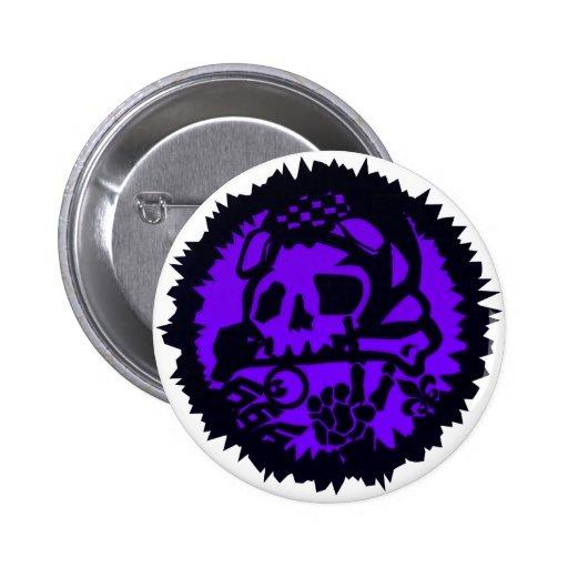 666 PIN REDONDO 5 CM