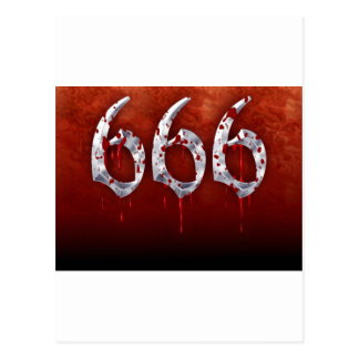 666 POSTCARD