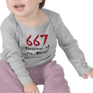 667 Neighbor of the Beast Tshirt