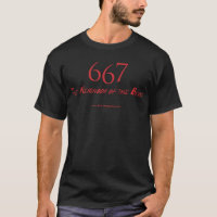 667 The Neighbor of the Beast T-Shirt