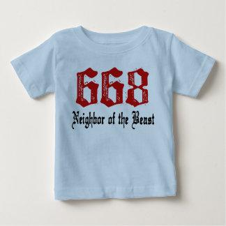 668 Neighbor of The Beast Tees