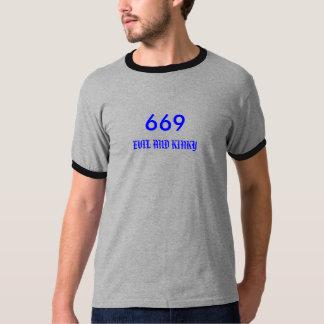669 , EVIL AND KINKY T-SHIRT