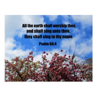 66 4 del salmo postales