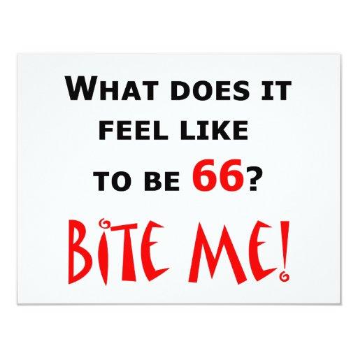 66 Bite Me! Card