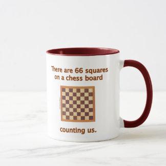 66 Chess Squares Mug