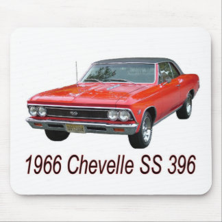 66 chevelle mouse pad