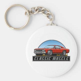 66_Chevelle_Red Keychain