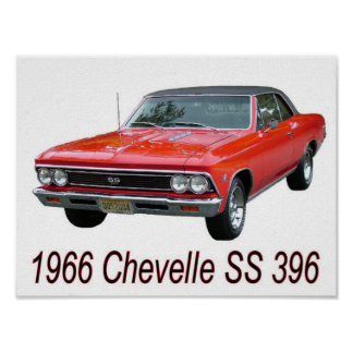 66 Chevelle SS 396 Poster