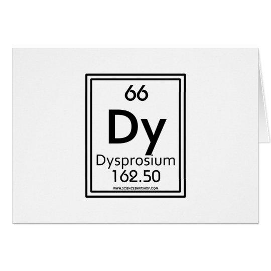 66 Dysprosium Card