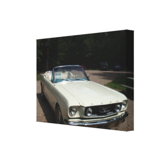'66 Mustang Cabriolet Canvas Print