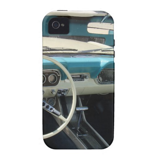 '66 Mustang Cabriolet Case-Mate iPhone 4 Cover