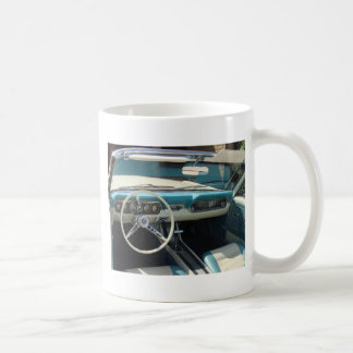 '66 Mustang Cabriolet Classic White Coffee Mug