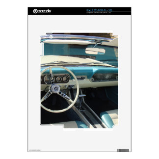 '66 Mustang Cabriolet iPad 2 Skins