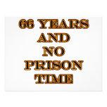 66 ninguna hora de prisión invitacion personal