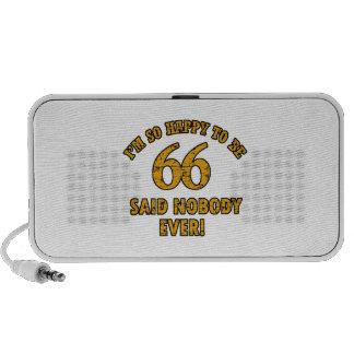 66 o aniversario del año