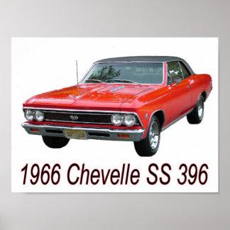 66 poster de Chevelle SS 396