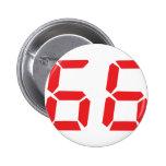 66 sesenta y seis números digitales del despertado pin