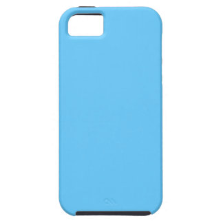 66CCFF Aqua Blue iPhone 5 Case