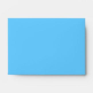 66CCFF Aqua Blue Envelopes