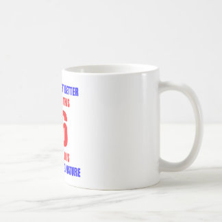 66th birthday design classic white coffee mug