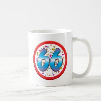 66th Birthday Classic White Coffee Mug