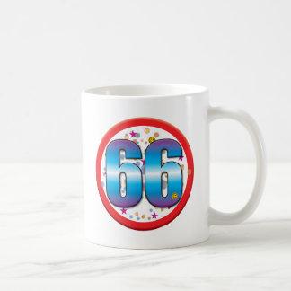 66th Birthday v2 Classic White Coffee Mug