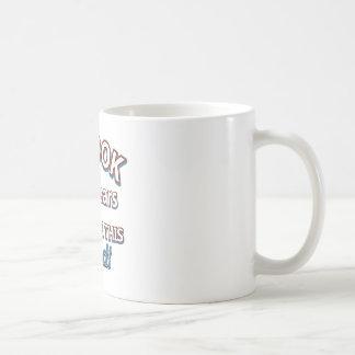 66th year birthday designs classic white coffee mug