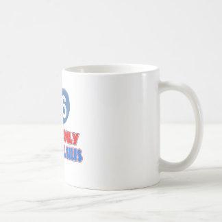 66th year old birthday designs classic white coffee mug