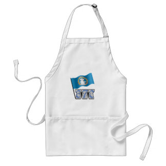 670 with Flag Adult Apron